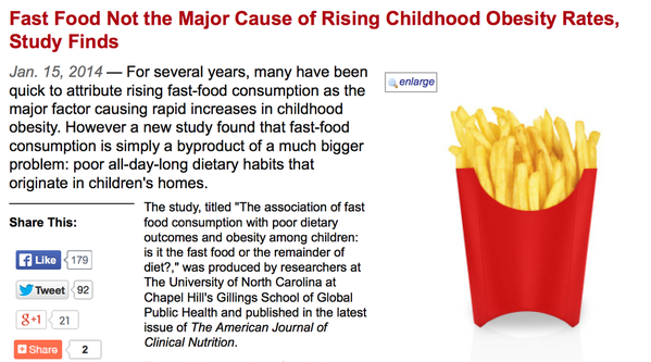 the causes to increasing obesity among children