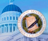 California Dome & Senate Seal