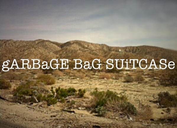 Garbage Bag Suitcase