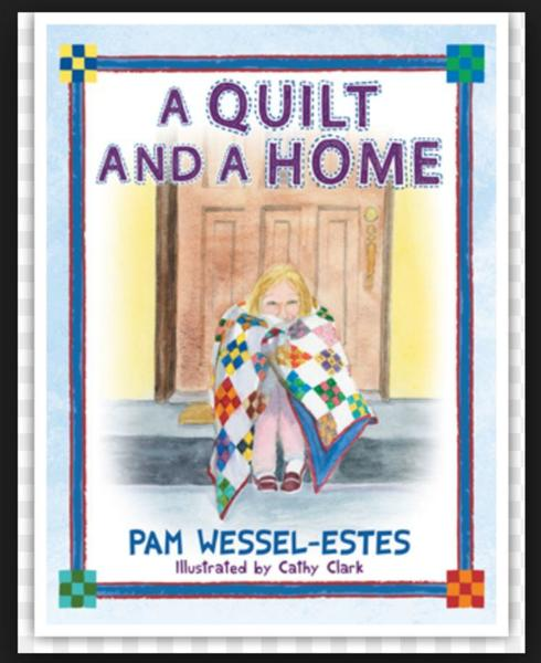 a quilt and a home