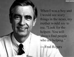 In The Neighborhood With Mister Rogers Look For The Helpers Acesconnection