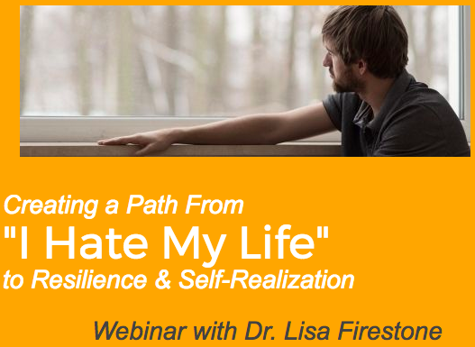 Webinar Creating A Path From I Hate My Life To Resilience Self