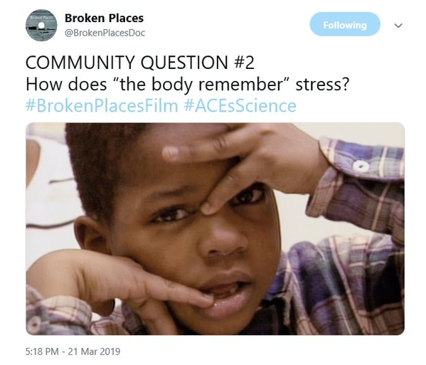 How does body remember stress