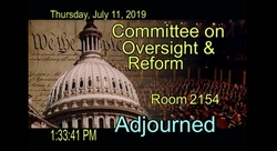 Capitol image Committee adjourned July 11