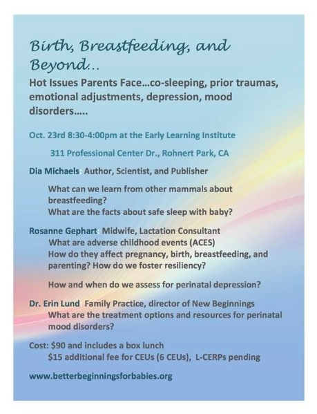 SCAC Breastfeeding Conf page 1 of 2 2019