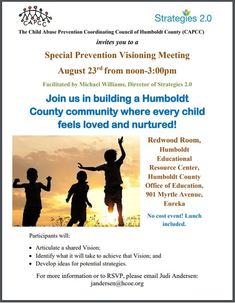 Humboldt Strategies Every Child Feel Loved event