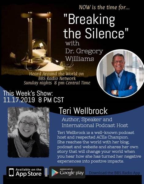 Breaking the Silence Terri Wellbrock guest