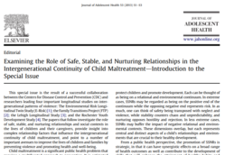 SCAC SSNR article
