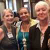 """View album """"Recents"""": Andrea Clements, of Johnson City, TN,  Danette Glass, of Alpharetta, GA, and Becky Haas, of Johnson City, TN at the Substance Abuse and Mental Health Services Administration (SAMSHA) forum in Johnson City in September, 2018."""