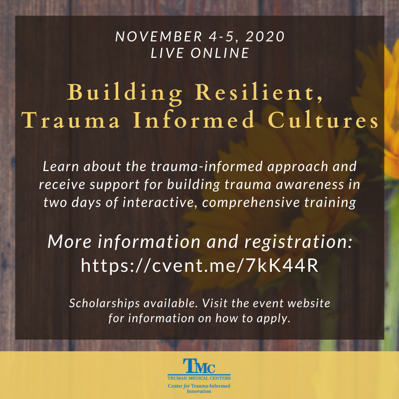 Building Resilient, Trauma Informed Cultures