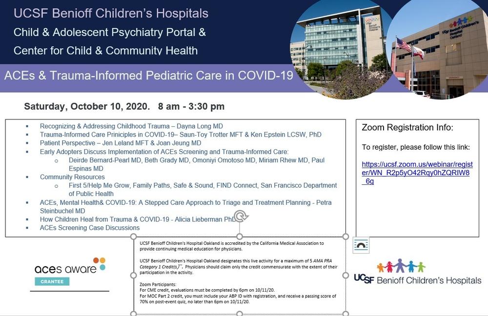 ACEs & Trauma Informed Pediatric Care