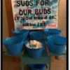 Suds: (Picture of Chilhowie High School's efforts with hygiene products)