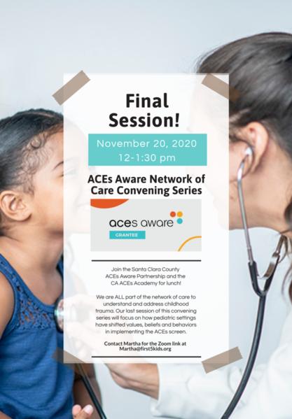 ACEs Convening 11.20 Flyer