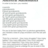 ancestral mathematics