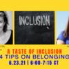 A Taste of Inclusive Spaces: 4 Strategies for Belonging