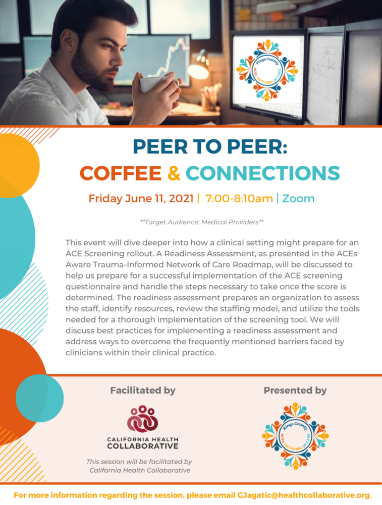Peer to Peer Session:  Coffee & Connections