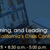 Listening, Learning & Leading in California's Crisis Continuum of Care