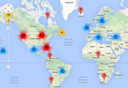 ACEs Member Map