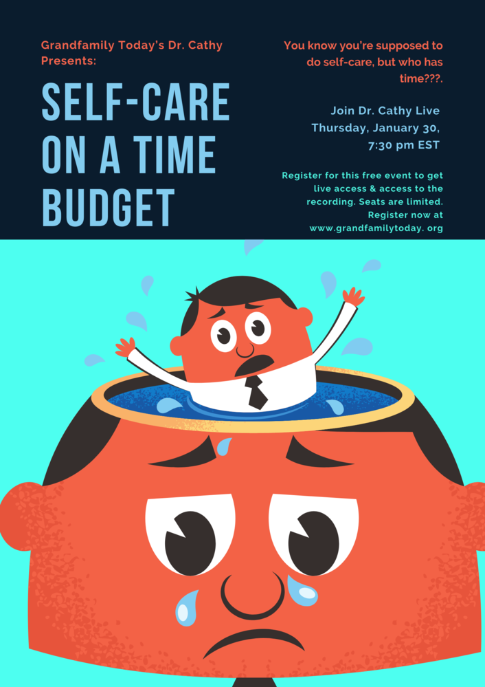 Free Virtual Event:Self-Care on a Time Budget
