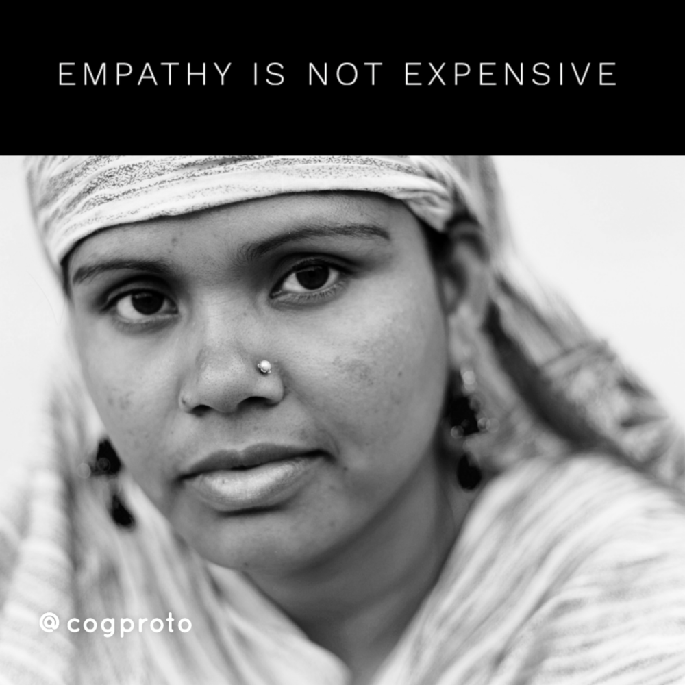 Empathy is not expensive