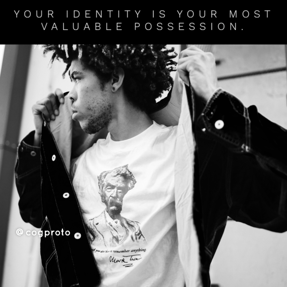 Your identity is your most valuable possession