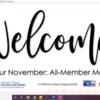HRTICN: All Member Meeting | November 2020