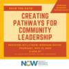 WEBINAR: Creating Pathways for Community Leadership