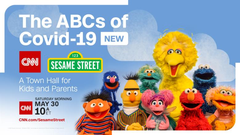 CNN and 'Sesame Street' - Second Special Coronavirus Town Hall for Kids and Parents [cnn.com]