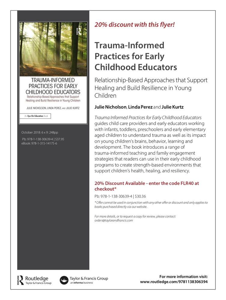 Trauma Informed Practices for Early Childhood Educators