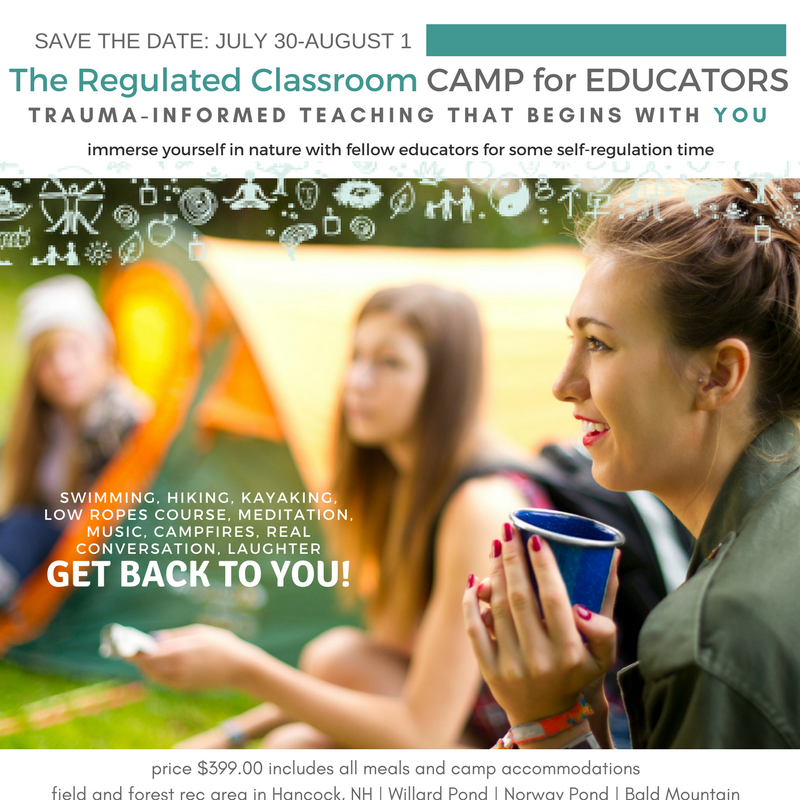 The Regulated Classroom:  Camp for Educators