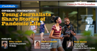 Young Journalists Share Stories on Pandemic Life & Systemic Racism (USC)