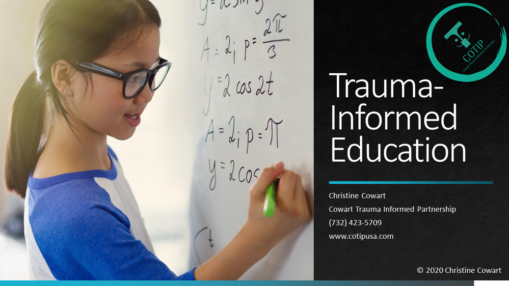 Trauma Informed Education Course Starts
