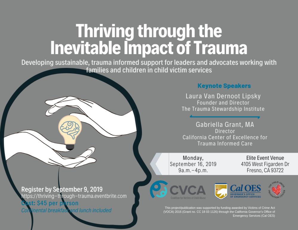 Thriving through the Inevitable Impact of Trauma