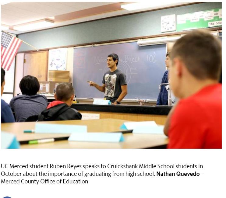 Merced County mentorship program aims to boost graduation
