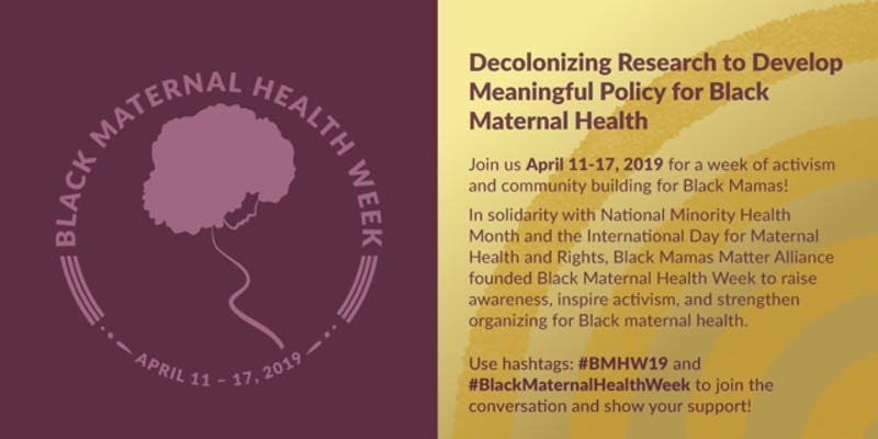 UCSF-School of Nursing Presents    2019 Black Maternal