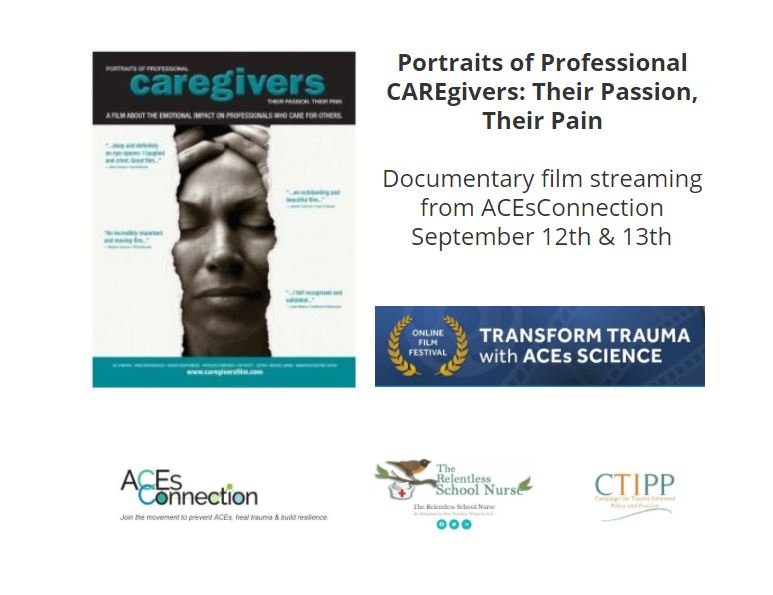 Portraits of Professional Caregivers documentary viewing on 9/12/20 & 9/13/20