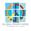 Global Peace Week (Check out Resilience Day on Tuesday!)