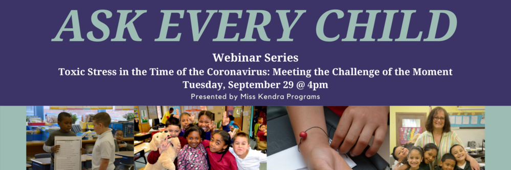 Miss Kendra Program Webinar - Meeting the Challenge of the Moment