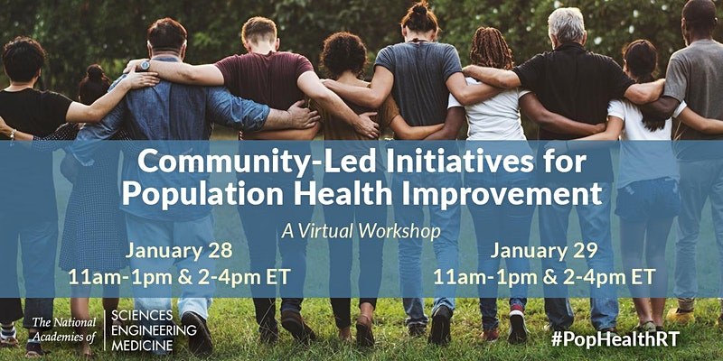 Community-Led Initiatives for Population Health Improvement: A Workshop