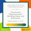 Peer-to-Peer-Community Empowerment: Building Hope and Resilience