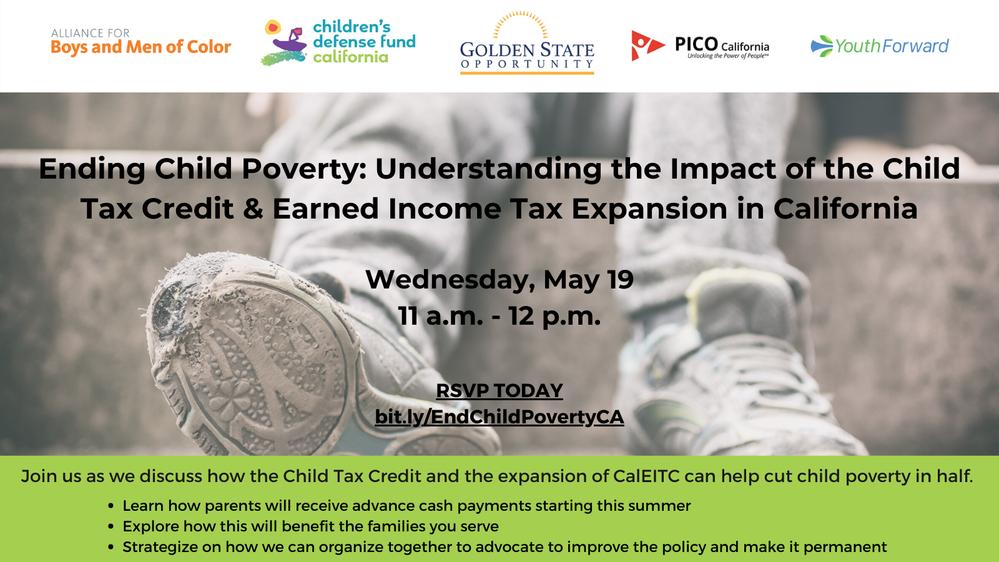 Children's Defense Fund - California Presents Child Tax Credit Discussion
