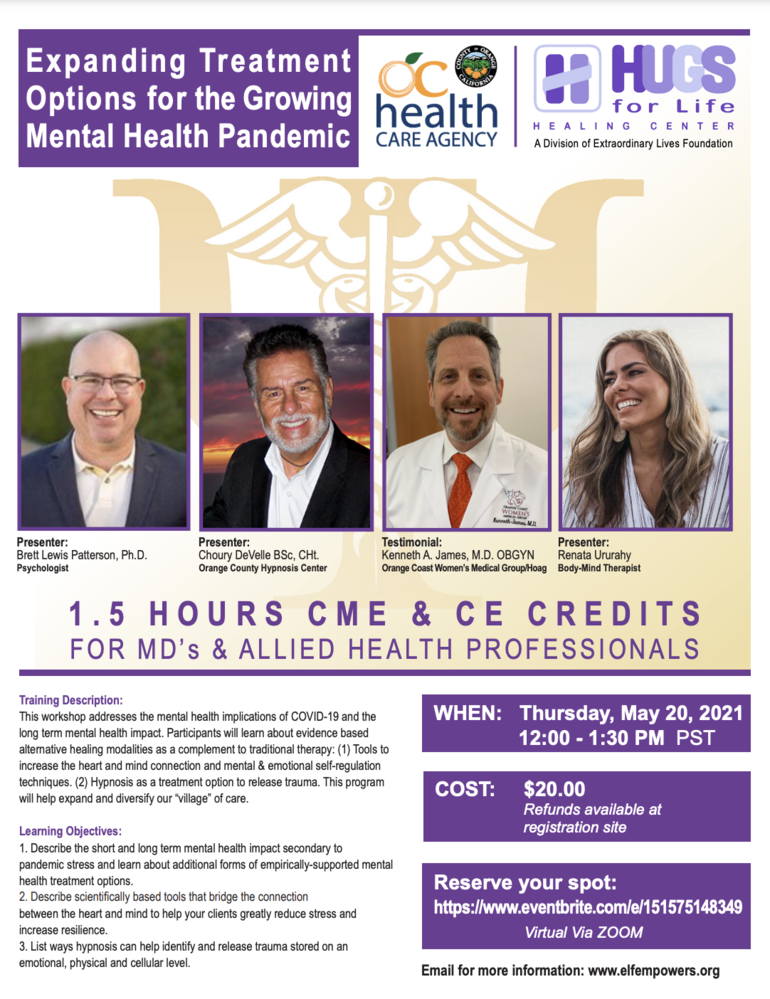 Expanding Treatment Options for the Growing Mental Health Pandemic