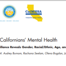 Monitoring Californians Mental Health_45 pages_CHIS data.pdf
