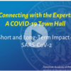 AAP Recorded Webinar on Short and Long Term Impacts of Covid in Children: Town Hall