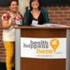 CHARM_In Action: Alejandra Aguilar and Marcella Maggio discussing the values of C.H.A.R.M.