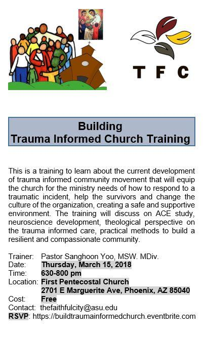 Building Trauma Informed Church (Phoenix Arizona)
