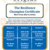 Origins Resilience Champion flyer