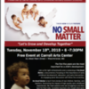 No Small Matter at Carroll Arts Center