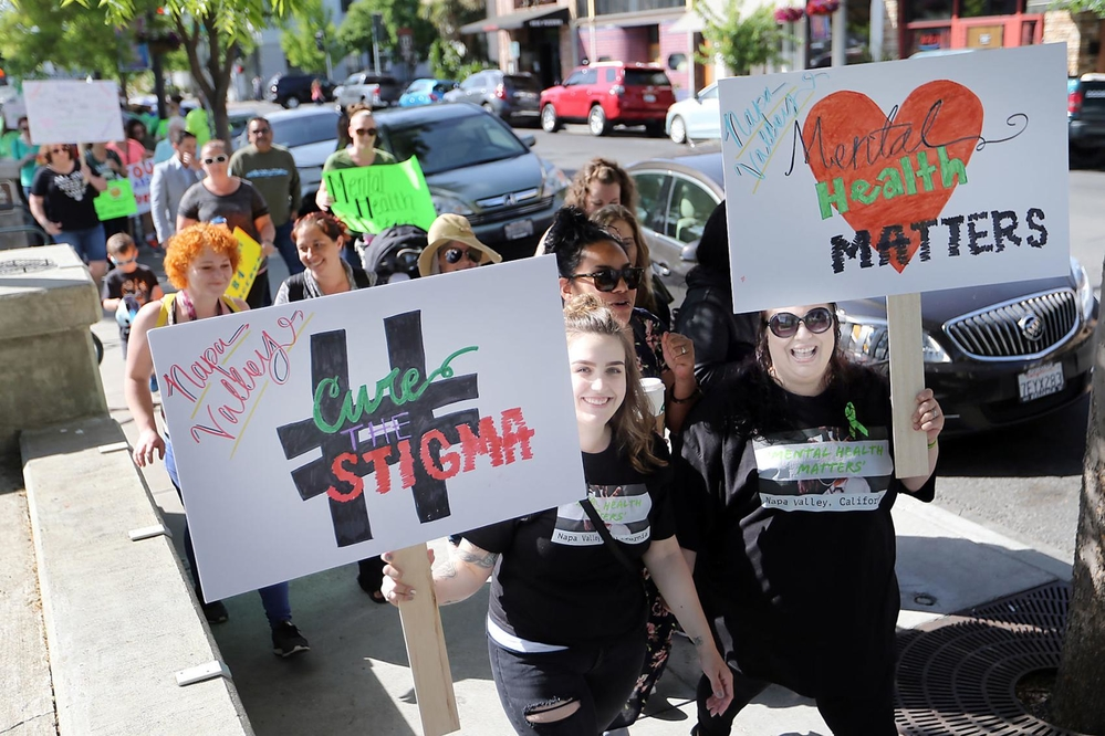Mental Health Matters Movement In Napa County Napa County Ca