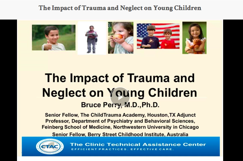 The Impact of Trauma and Neglect on Young Children